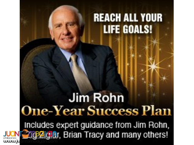 Jim Rohn One-Year Success Plan (DVD)