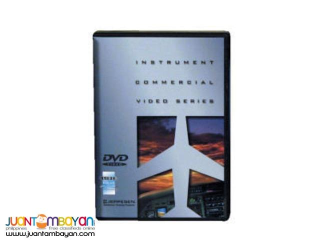 JEPPESEN Instrument Commercial DVDs