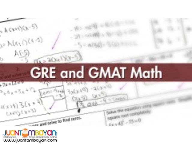 GRE and GMAT Math