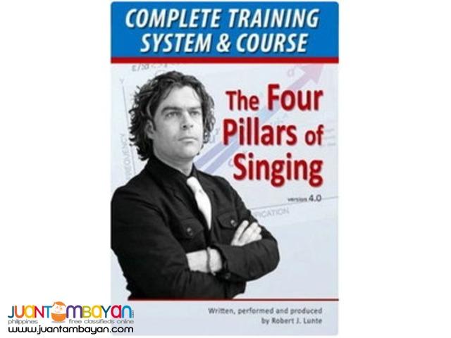 The Four Pillars Of Singing
