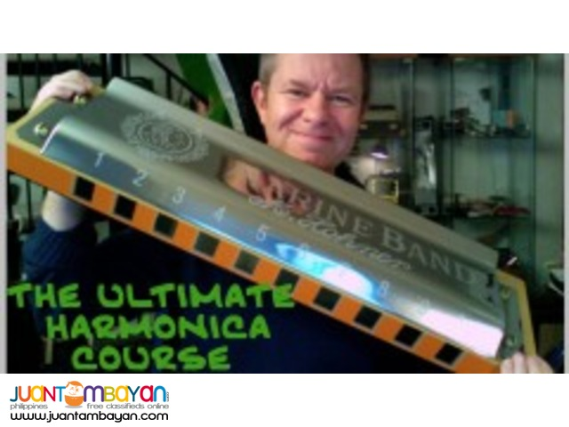 The Ultimate Harmonica Course (DVD)