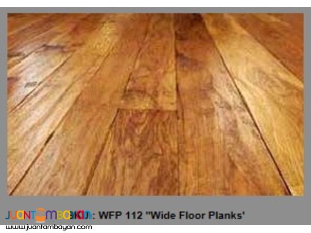 Century-Old Wide Floor Planks