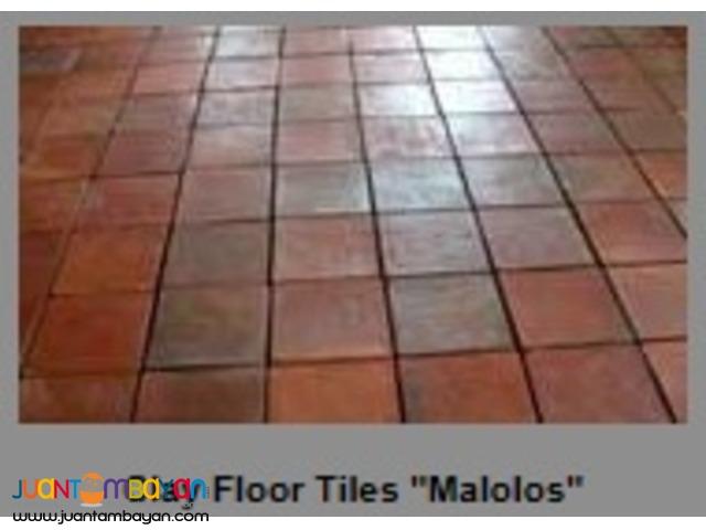 Clay Floor Tiles