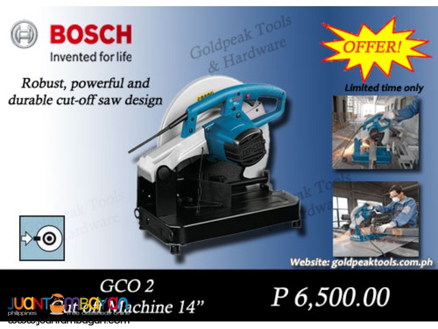 Bosch GCO 2 Cut Off Machine - Chop Saw 14