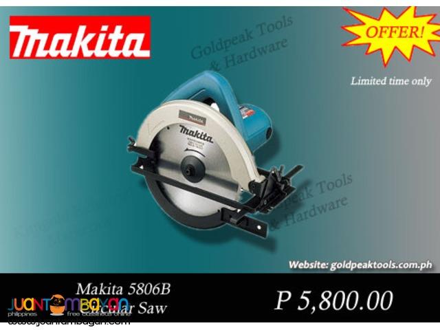 Makita 5806B Handheld Circular Saw 7-1/4