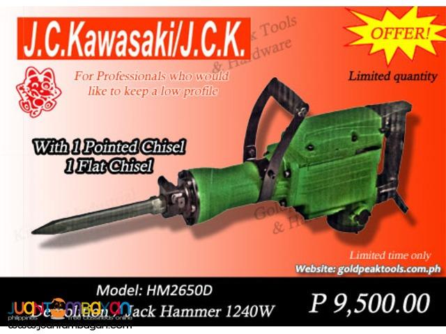 JC Kawasaki HM2650D Demolition - Jack Hammer