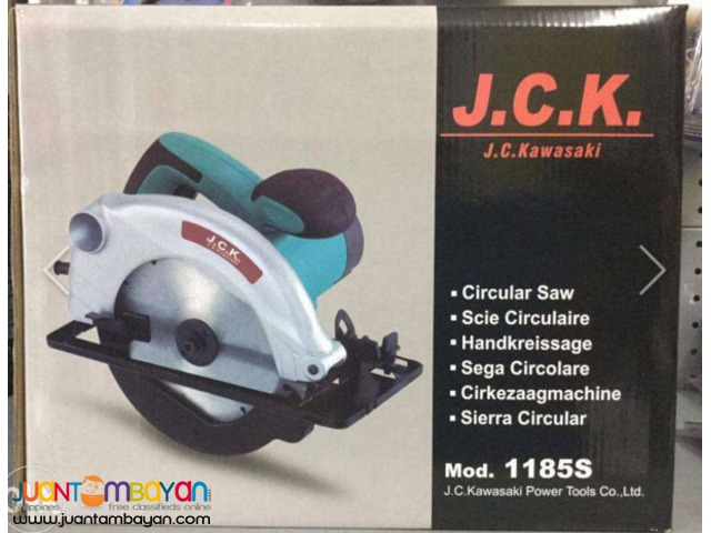 JC Kawasaki 1185S Circular Saw 185mm