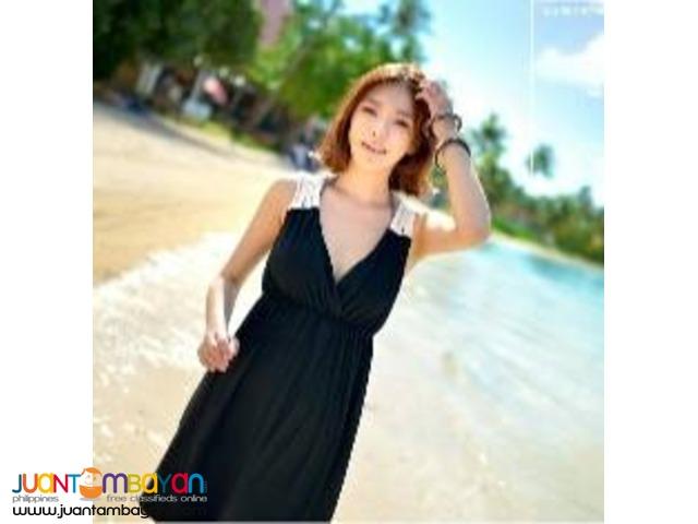 Sophisticated Crochet Beach Dress