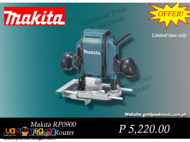Makita RP0900 Plunge Type Wood Router