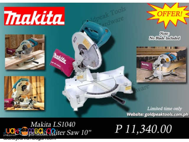 Makita LS1040 Compound Miter Saw - Aluminum Cutter