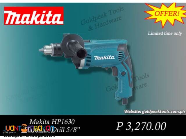 Makita HP1630 Hammer Percussion Drill