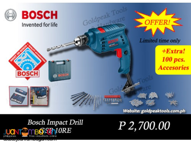 Bosch GSB 10 RE Impact - Hammer Drill 10mm