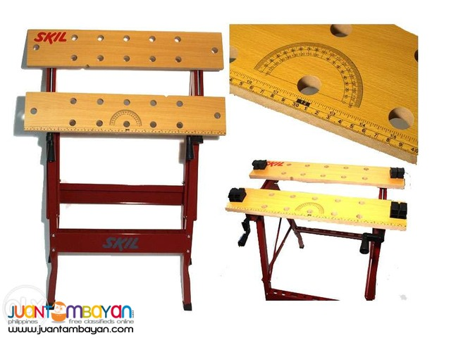 Skil 0909 Workbench with Clamp System
