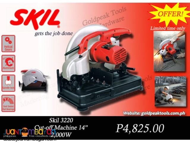 Skil 3220 Cut Off Machine / Chop Saw 14