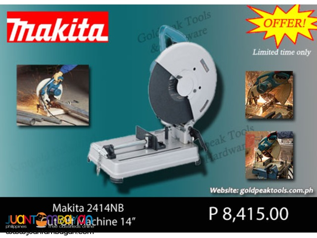 Makita 2414NB Cut Off Machine / Chop Saw 14