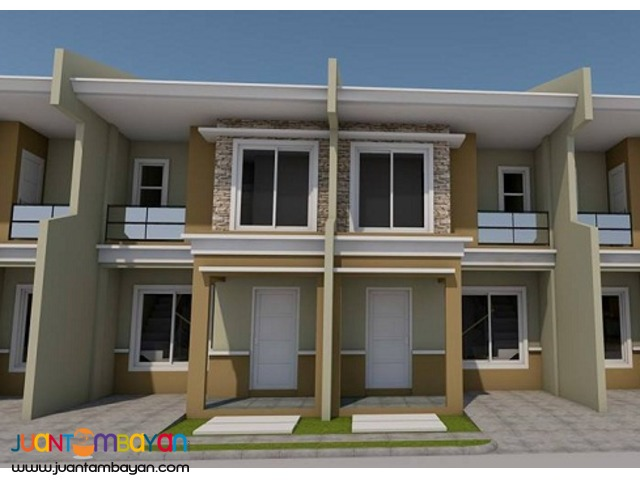 TownHouse 2–storey as low as P14,046k monthly amort in Talisay Cebu