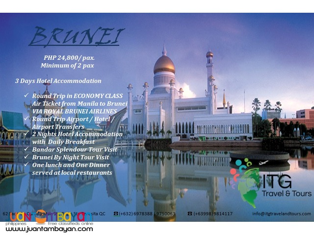 Hello Brunei Holiday Package
