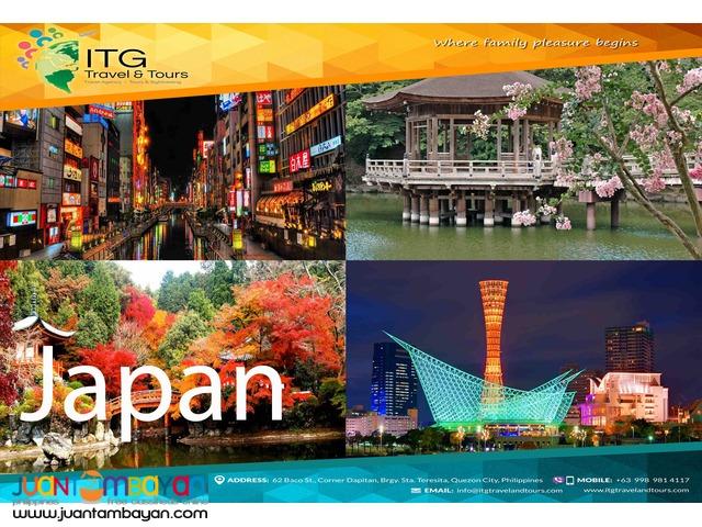 JAPAN (Osaka + Kyoto, Nara, Kobe)