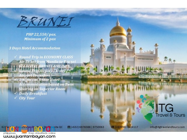 Experience a Luxury Holiday in Brunei