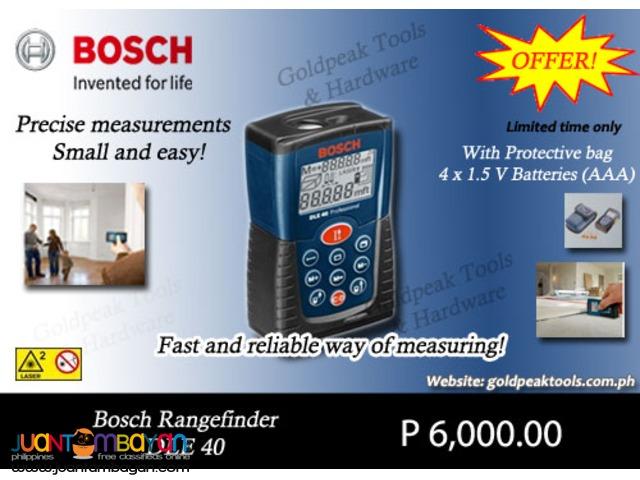 Bosch DLE 40 Laser Rangefinder - Distance Measurer