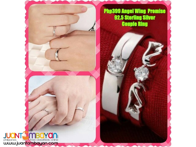 Angel Promise Couples Ring