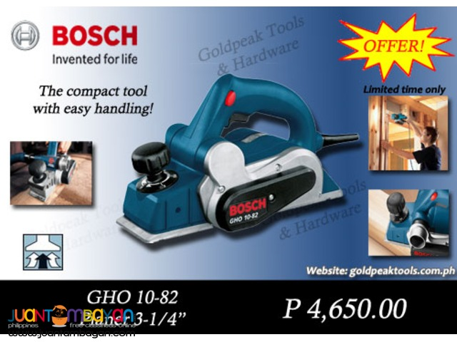 Bosch GHO 10-82 Wood Planer 82mm