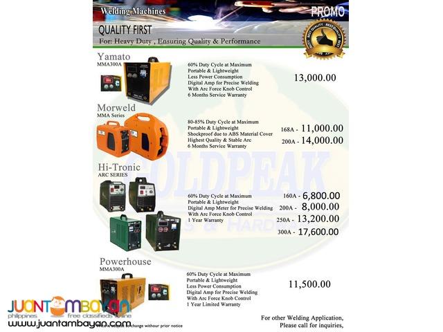 Smartwelder DC Inverter Portable Welding Machine 200A