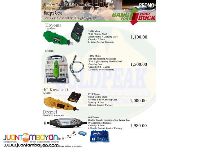 Dremel 3000 N.10 High Speed Rotary Tool Starter Kit