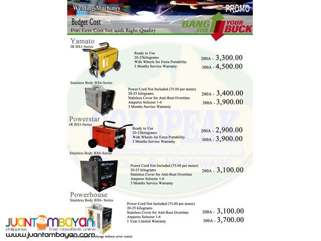 Hitronic ARC200T DC Inverter Welding Machine 200A