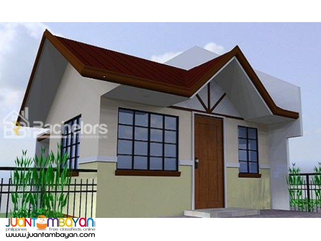 House 1–storey as low as P15,817k monthly equity in Minglanilla Cebu
