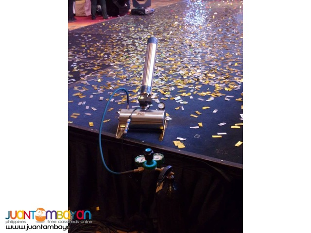 Confetti Machine Rental Promo Package F