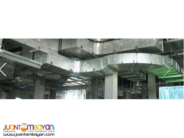 Air Conditioning Exhaust Ventilation Mechanical Contractor