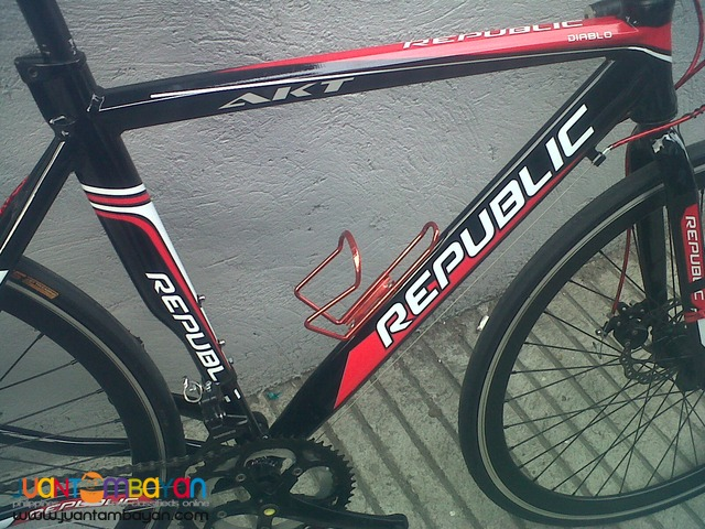 Racer Road Bike Black/Red