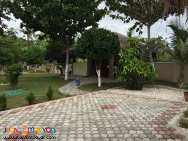 FOR SALE DEVELOPED BEACH FRONT PROPERTY WITH 2 HOUSES