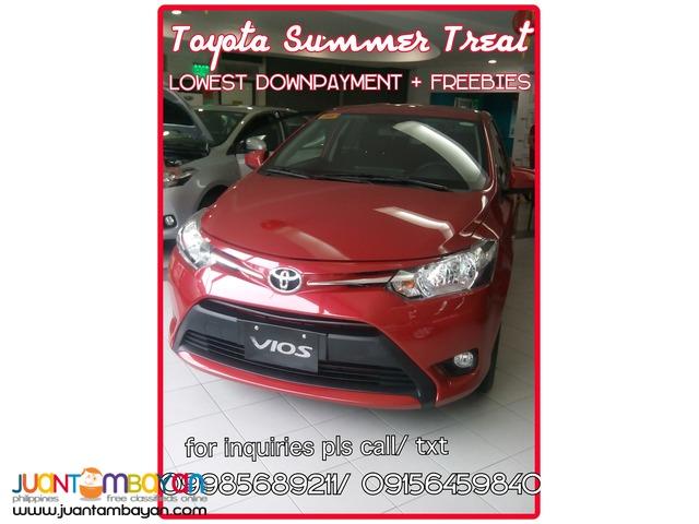 Toyota Cubao 2016 Vios Lowest DP - Wigo Avanza