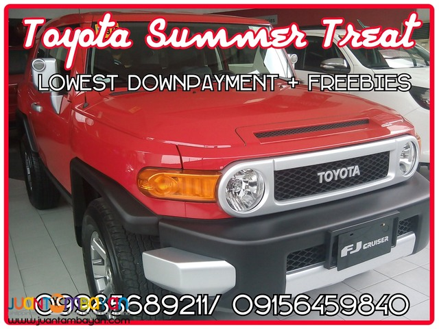 Toyota Cubao 2016 FJ Cruiser Lowest DP Fortuner Innova