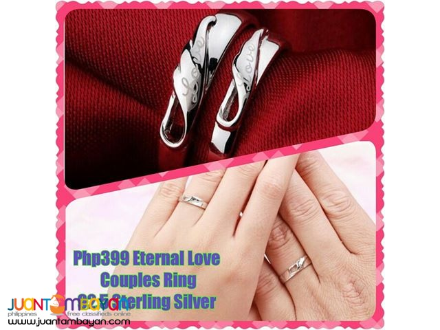 Eternal Love Couples Ring 92.5 Sterling Silver