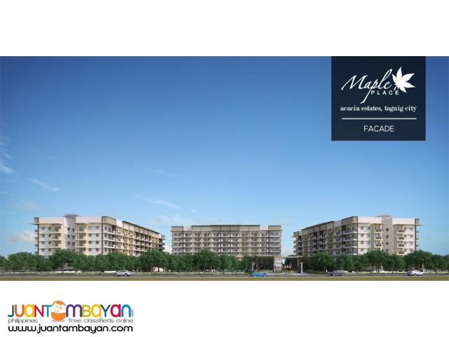 Condominium unit in Taguiug City Maple Place