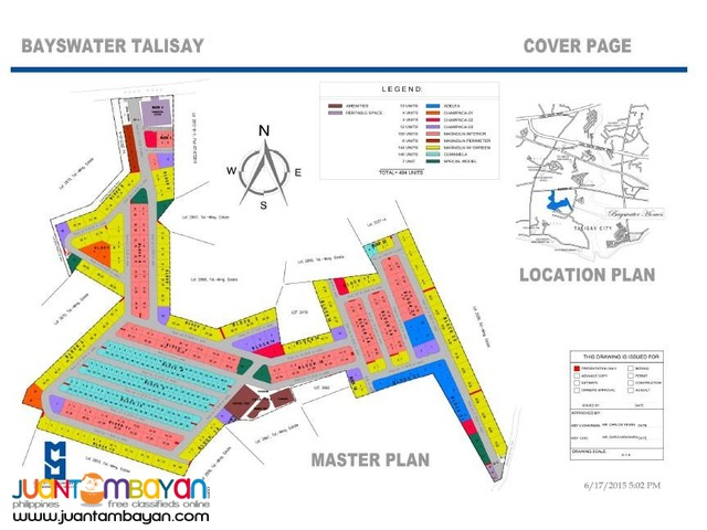 Pre selling townhouse at BAYSWATER Talisay City Cebu