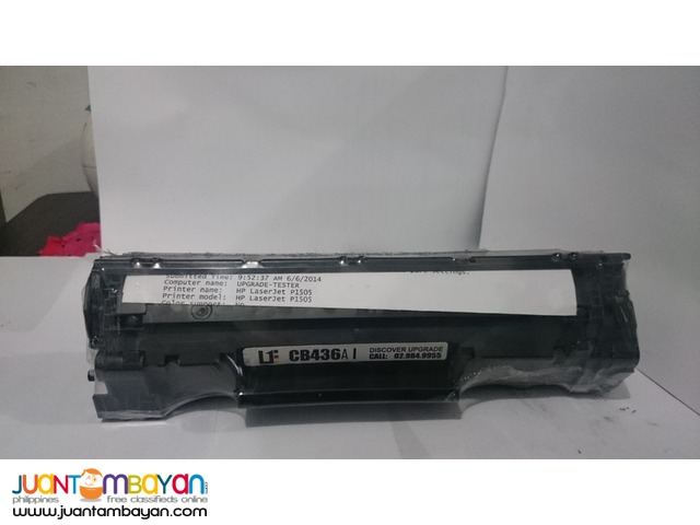 HP CB436A Black Laserjet Toner Cartridge
