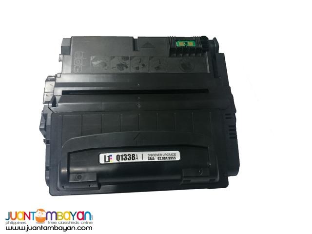 HP 38A Black Laserjet Toner Cartridge