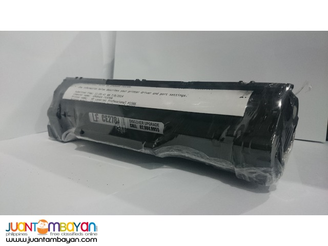 HP CE278A Black Laserjet Toner Cartridge