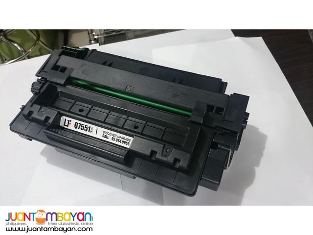 HP Q7551A Black Laserjet Toner Cartridge
