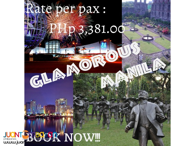 3D2N Re-discover Manila