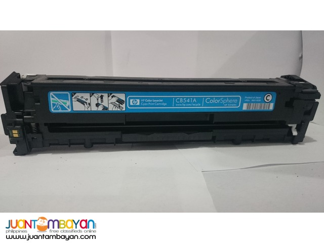HP CB541-43 Colored Toner Cartridge