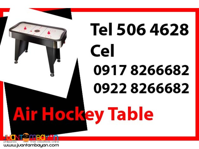Air Hockey Table Rental Hire Manila Philippines