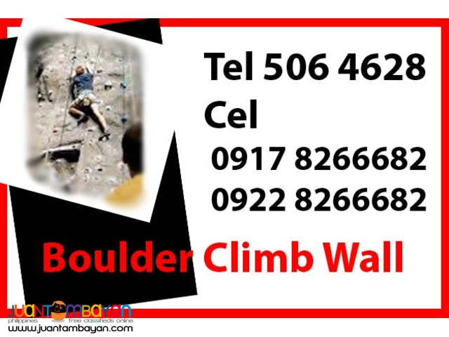 Boulder Climb Wall Rental Hire Manila Philippines