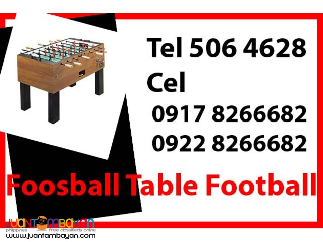Foosball Table Football Rental Hire Manila Philippines