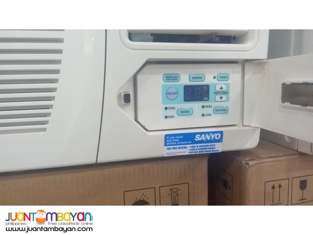 Brand new SANYO window type aircon