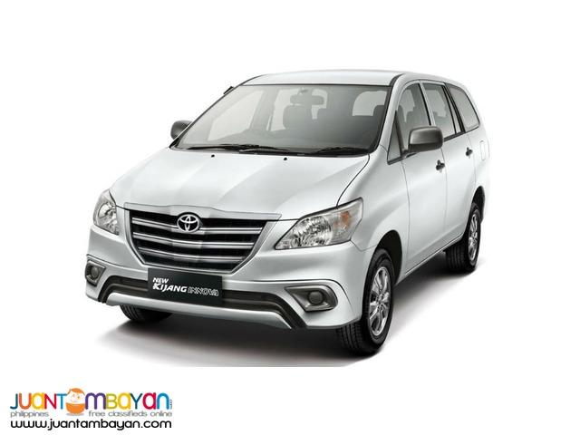 rent a car/toyota innova